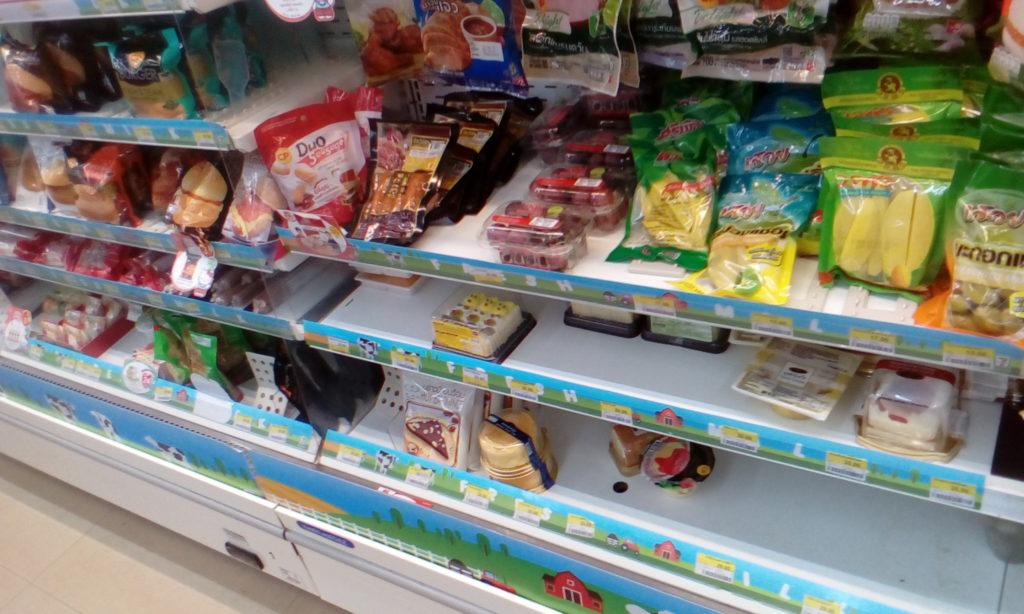 冷蔵食材コーナーはこんな感じ