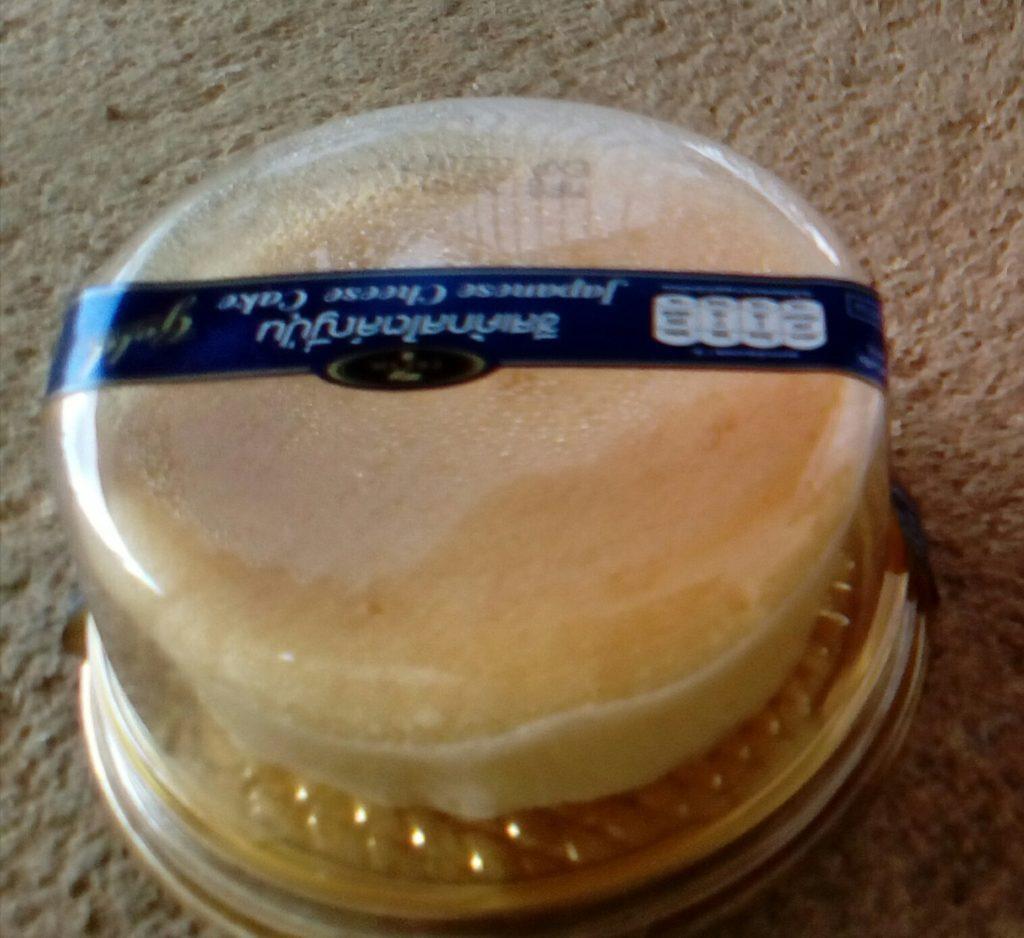 これが噂の「日本風」チーズケーキ