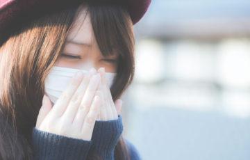 のどが痛い 鼻水 花粉
