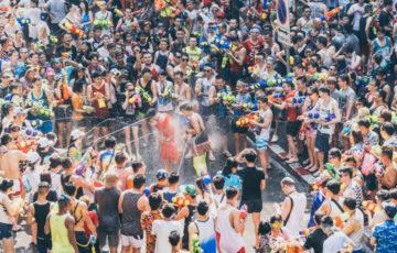 タイ語 ソンクラーン 水掛け祭