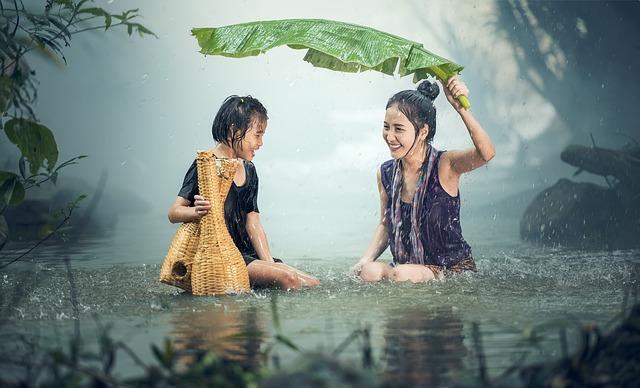 タイ語 コロケーション 雨が降る 雨季