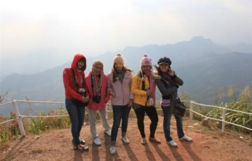 自ら「寒さ」を求めて、寒い地域を旅行しようとするタイ人は多い。 タイ人にとって、「寒さ」は魅力の1つなのだ。